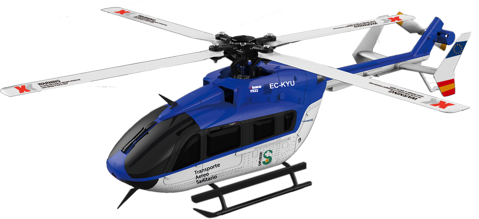 S2544 RC Helicopter EC 145