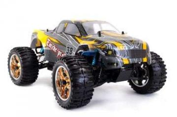 RC Monstertruck Torche Pro 1:10 gelb