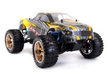 RC Monstertruck Torche Pro 1:10 gelb 2
