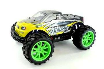 RC Monstertruck Xmissile G HBX 1:10 4WD 2,4 GHz