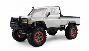 RC AMXROCK RCX10B Crawler Pick-Up 1:10 weiss
