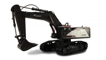 RC Raupenbagger ACV730 weiss 1:14