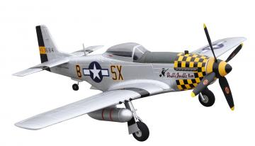 RC Flugzeug P-51D Mustang yellow