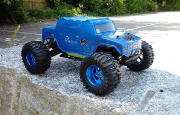 RC Gainer Hummer H2  4WD